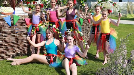 The HUB Dance troupe from the Crewe area performed their routine in the Cheshire Carnival of Gardens