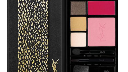 This looks like a travel journal but in fact its YSLs gorgeous Palette Collector Wild Edition, a nat