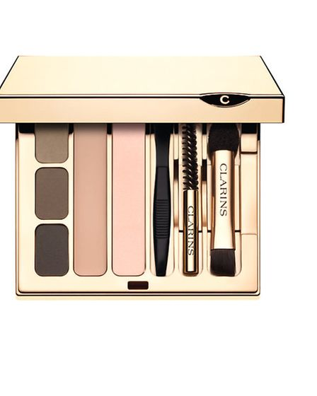 Clarins Pro Eyebrow palette contains everything you need to get that all-important groomed brow.