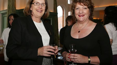 Dr Mary Meldrum and Jacqueline Hughes-Lundy