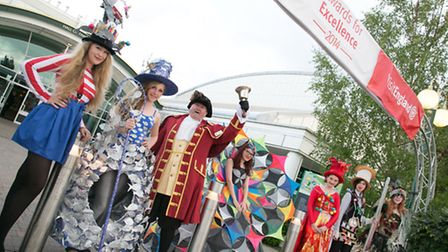 Art Couture Painswick at Visit England's Awards for Excellence 2014