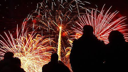 Chipping Campden's annual firework display
