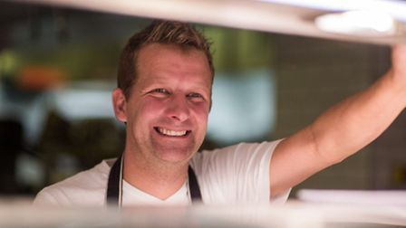 Matt Downing is head chef at the Magdalen Chapter hotel