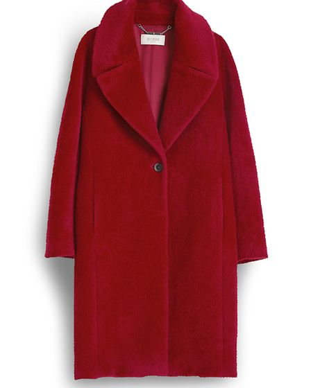 If you want cosy youve got it with this gorgeous Teddy Coat, £450, Hobbs
