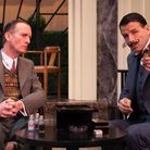 Hastings and Poirot in Black Coffee (Photo: Darren Bell Photography)