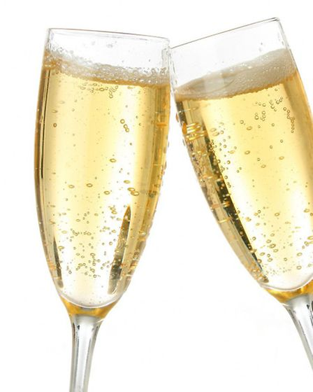 Share a glass of champagne for Christmas or to bring in the New Year at The Swan Inn