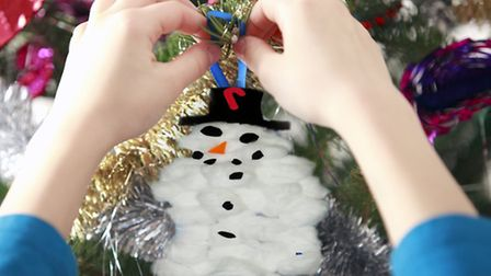 Let's face it: Christmas trees decorated by children look… well, shit