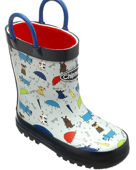 Welly Cool Splash in style in these adorable canine wellyboots, from Cheshire based Chipmunks. Rai