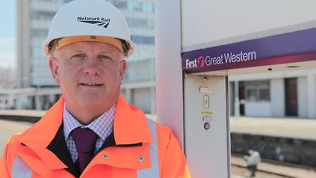 Steve Hawkins, who works for Network Rail in the Devon area, is featured in the first episode of the