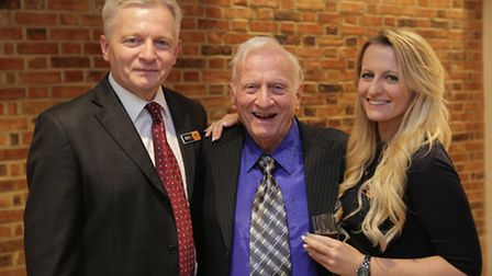 Owner of RDO Kitchens & Appliances Roger Sargant and his father and daughter, Ken and April Sargant