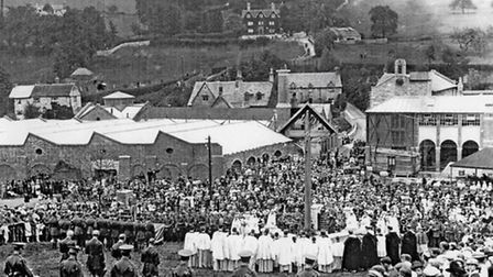 The Wayside Cross, The Opening Ceremony / June 3 1917