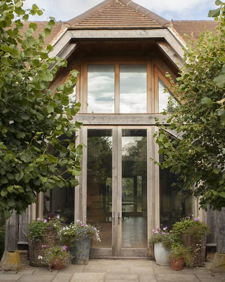 Garden designer Jason Spink helped with the layout and planting of the south-facing garden
