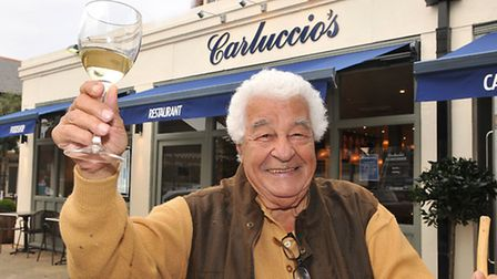 Carluccio welcomes diners to his newest restaurant