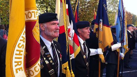 Cheltenham Remembrance in 2013 / Credit: Gloucestershire Echo