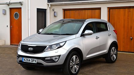 The Sportage - no wonder this vehicle accounts for a quarter of Kias UK sales