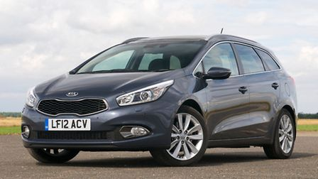 The new look Ceed hatchback, a fabulously stylish and economical vehicle
