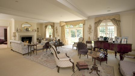 The drawing room is at the heart of the house