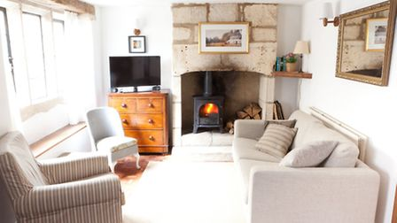 Holiday homes with open fires and cosy furnishings provide a wonderful setting for a perfect weekend