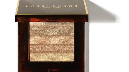 For just the right amount of sparkle, try Bobbi Brown's Shimmer Brick in Copper diamond £35 www.bobb