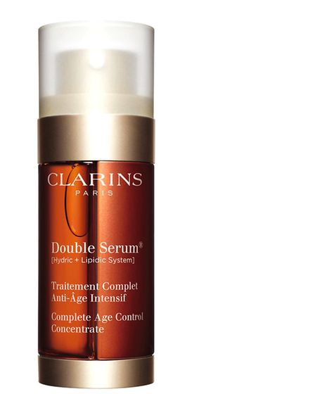 Clarins Double Serum, targets all aspects of skin ageing in one complete concentrate.50ml £69, 30ml