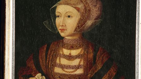 Ann of Cleeves portrait at Hever Castle
