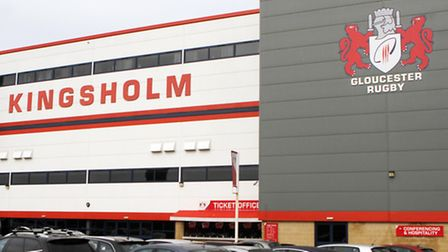 Gloucester Rugby Club's Kingsholm ground