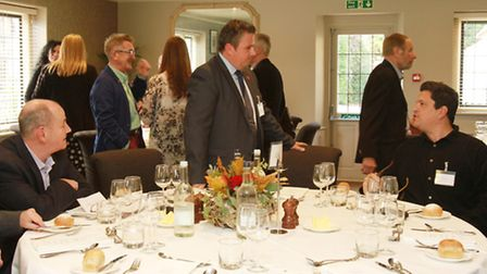Cotswold Life Authors Lunch at The Slaughters Country Inn