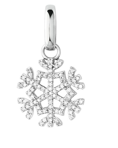 SNOW FAKE This stunning snowflake diamond charm, £195 from Links of London, aint no fake. www.links