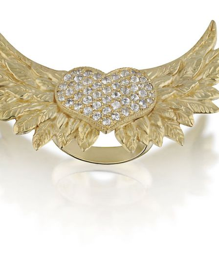 NO ANGEL This highly covetable Angelia Heart, £960 from Sheeva London, is so cool itll make you shi