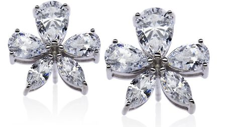 FLOWER POWER Stick to these Carat flower stud earrings, £197 from House of Fraser, and you wont go