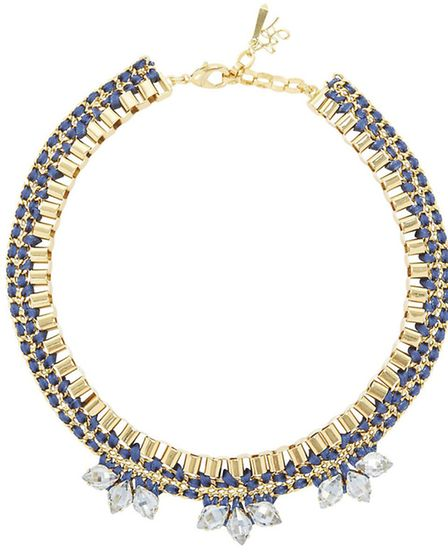 PEARLS OF WISDOM Prepare to be showered with praise if you wear this John & Pearl Meteor gold tone