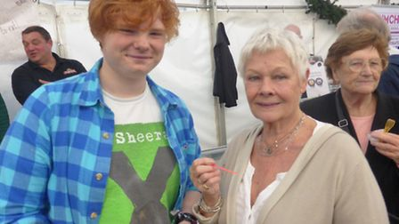 Dame Judi Dench said she looks forward to the festival at Priory Farm every year (Photo: Local Food