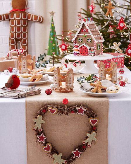 Could it BE more Christmassy?