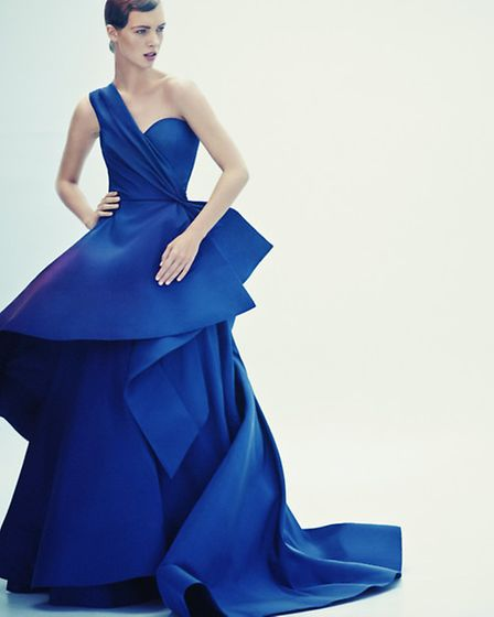 Take centre stage in this stunning gown by Oscar de La Renta, £6,500, Selfridges