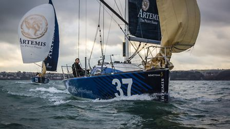Thousands of people are expected to line Torquay's marina to watch the Solitaire du Figaro skippers in action when the...