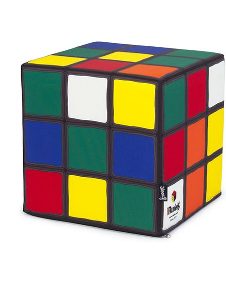This retro Rubiks Cube bean bag is fun and colourful and will brighten up any room instantly. The Ru