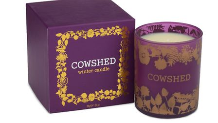 We love this Cowshed Winter candle, £36 by Cowshed, www.cowshedonline.com