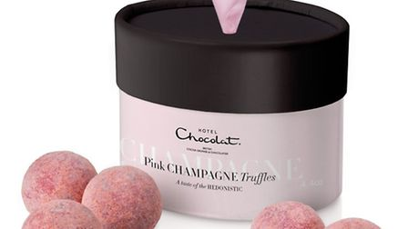 Christmas isnt Christmas without chocolate and what better than these delicious Pink Champagne Truff