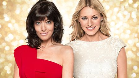 Claudia Winkleman and Tess Daly, hosts of Strictly Come Dancing