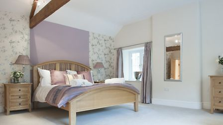 One of the beautiful bedrooms