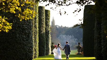 Arley Hall - Couple in the Gardens image by www.carolinewhitephotography.co.uk