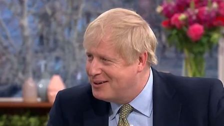 Boris Johnson squirmed when probed about his family life on ITV's This Morning. Picture: ITV.