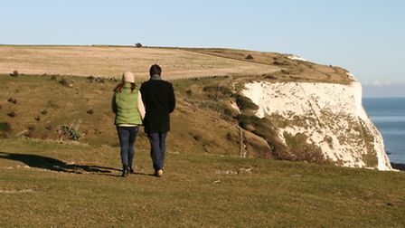 Take a walk on the White Cliffs of Dover