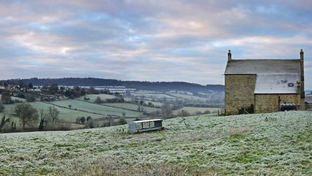 The frosty fields can be a pretty sight, but keep in mind the risks of cold weather for the most vul
