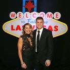James Milner and Amy Fletcher attending the 'What Happens In Vegas' Charity Ball