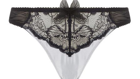 BRA-VO Described as elegant as a pen drawing on the skin, the Marie Jo Tilda range, from £42.95 to