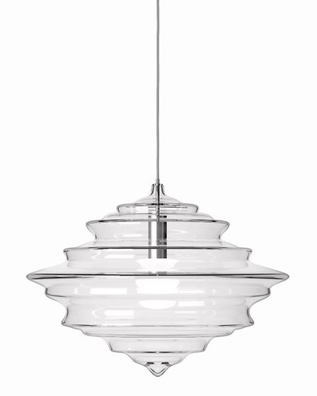 Clear as a bell This glorious pendant light is part of the aptly named Neverending Glory collection