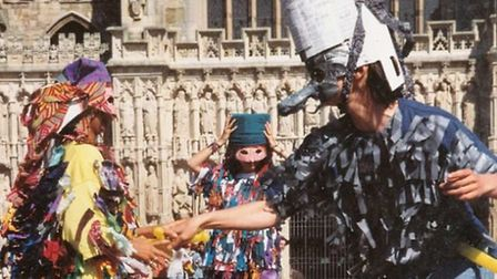Mummers in Exeter