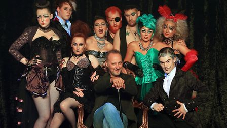 Peter Corry and Show Cast