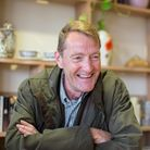 International best selling author Lee Child opens the new Raystede Centre for Animal Welfare entranc